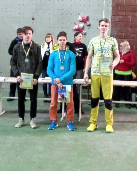 Результати Чемпіонату України зі скелелазіння в Одесі 22-25 березня