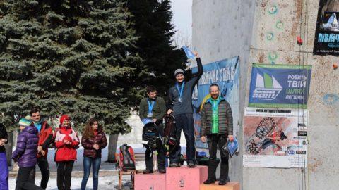 Чемпіонат України з льодолазання в дисциплінах трудність та швидкість в Харькові