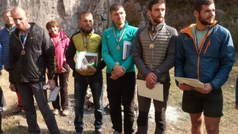Чемпіонат України з альпінізму у скельному класі завершено