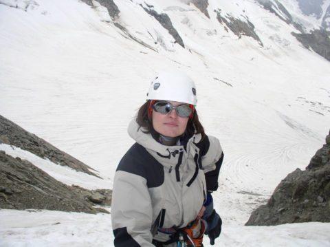 Наш інструктор Оксана Ревчук про про сім'ю, гори, улюблену роботу, альпінізм