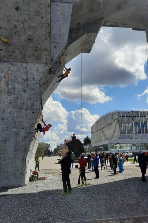 У Харкові на минулі вихідні завершився Кубок України з техніки альпінізму