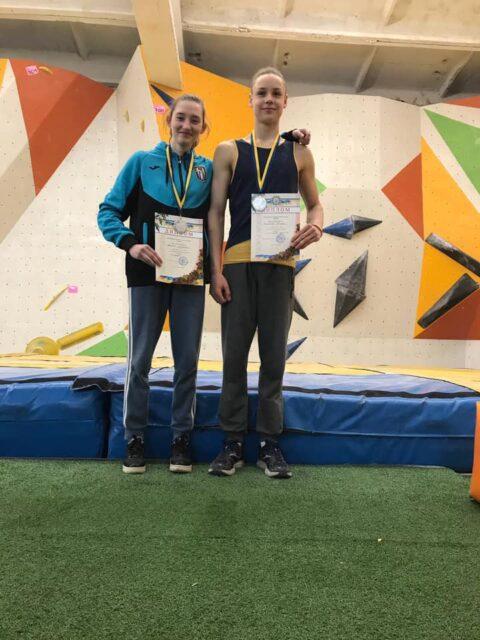 Чемпіонат України зі скелелазіння серед юніорів, молоді – результати