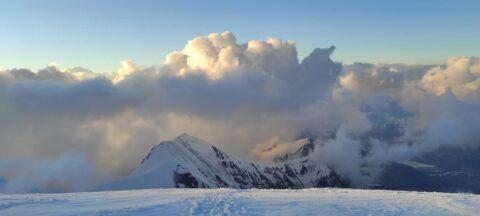 Вітаємо київських альпіністів з Горою!