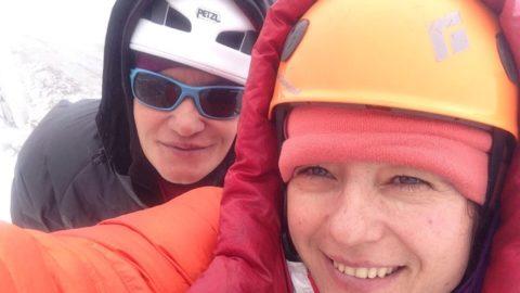 Марина Коптєва і Галина Чібіток були на вершині Камайлонга!