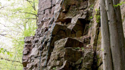 Чемпіонат України зі скелелазіння на природному рельєфі серед студентів в Денешах