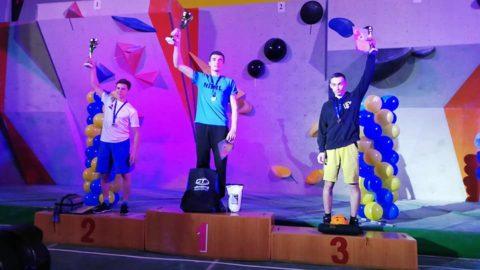 Змагання зі скелелазіння у дисципліні болдеринг у Нікополі