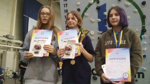 Відкритий чемпіонат Києва по болдерингу серед дітей та молоді від 8 до 18 років. Результати