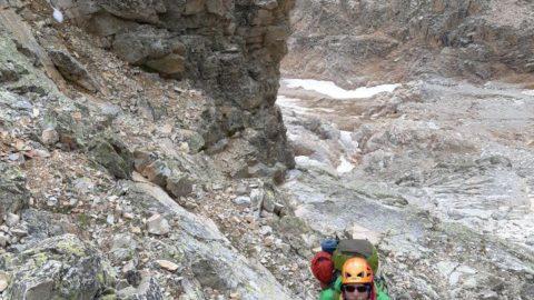 Анна Ясинська й Володимир Іванченко здійснили сходження на Ушбу 4710 м.