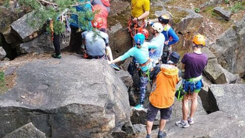 Записатись в групу на заняття з альпінізму до інструктора Бориса Лащенова